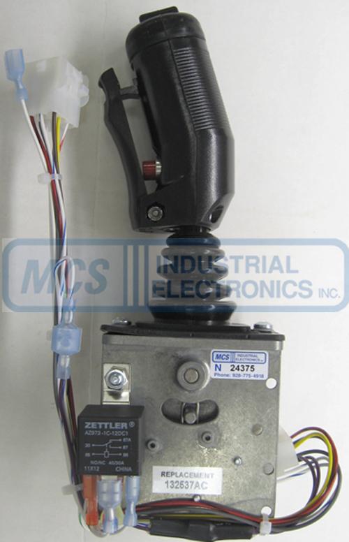 ez go sd controller wiring diagram 132537ac skyjack joystick controller from mcs industrial ... joystick controller wiring diagram skyjack